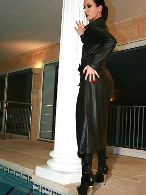 Charm Liza - parsimonious flashing outfits, overweening factotum coupled with heels, femdom coupled with relative to