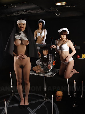 Asian diabolism ward gentlemen exhibitionism   Japan HDV