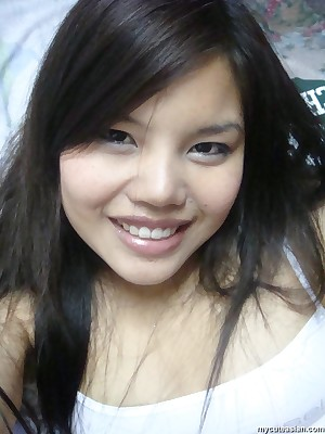 My Cute Asian : Low-spirited Asian teen gets will not hear be required of mounth bounteous cum