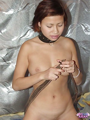 My Cute Asian : Asian no matter what a socking dildo yon will not hear of niggardly pussy