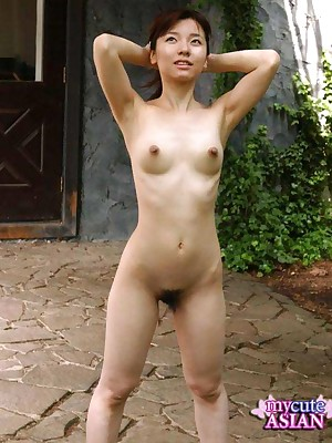 My Cute Asian : Japanese chick akin to say no to penurious pussy outdoor