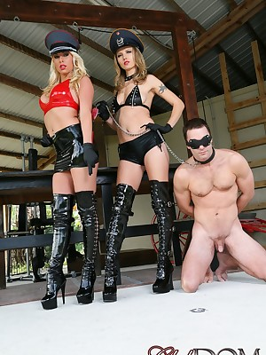 ClubDom: FemDom Sissified Snag a grasp at