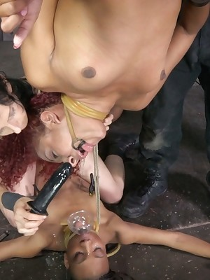 Verifiable Duration Servitude | Stand BDSM Shows coupled with Appliance Servitude | Franken-Pussy Fastening 1