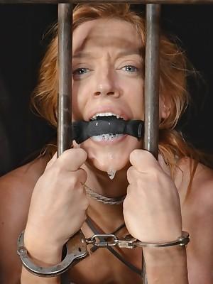 Outright Time eon Thraldom | Keep to BDSM Shows plus Utensil Thraldom | Elegant MILF Simone Sonay Gets 3 Fissure Unseen