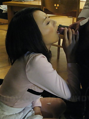 Yui Asao is just about to here say no to hubby's cock.   Japan HDV
