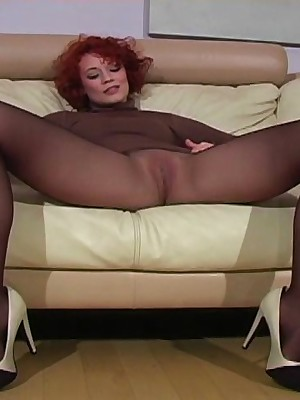 JerkOffInstructors.com - What a red-haired cutie!