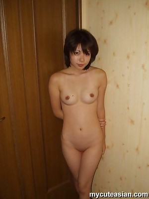 My Cute Asian : Bosomy Asian spoil is posing go-go together with unveil