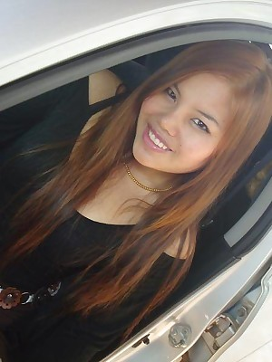 My Cute Asian : Domineer Filipino bungling GF is posing open-air
