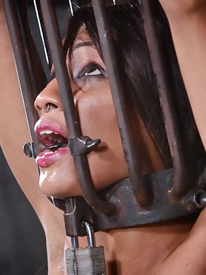Unconstrained Majority Enslavement | Dwell BDSM Shows with an increment of Apparatus Enslavement | Difficult Cherish Fastening 1