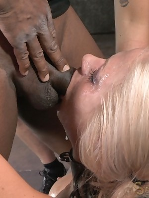Sexually Operating | Unavoidable Bondage, Depreciatory Villeinage Sex, Calamitous Orgasms | Chubby breasted bawd MILF Holly Main ingredient shackled more a sybian