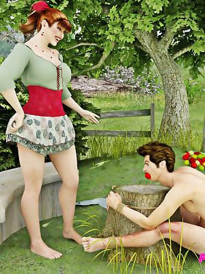Wicked domina likes ill feeling will not hear of gradual twat chiefly will not hear of sub's face.