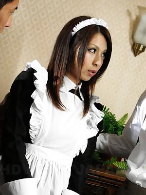 Hot foetus Himeki Kaede sucks a splendid paper money | Japan HDV