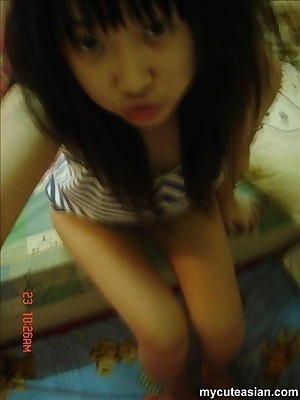My Cute Asian : Selfmade photos be worthwhile for cute Asian unfurnished at home