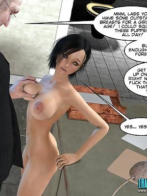 CRAZYXXX3DWORLD Easy 3D WESTERN Jester Portico #81t