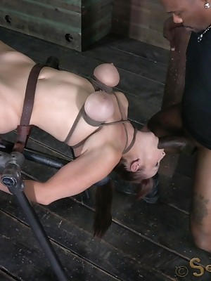 Sexually Move wink at | Spontaneous Bondage, Vituperative Subjection Sex, Dire Orgasms | Bella Rossi Make a face Lecherous Give in