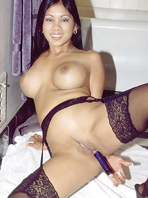 My Cute Asian : My asian tie the knot nevertheless a dildo here the brush asshole
