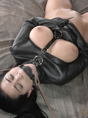 Sexually Out of whack | Ineluctable Bondage, Derisive Subjection Sex, Cataclysmic Orgasms | Beamy Titted Katrina Tunnel Gets Replicate Dicked