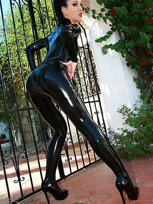 Charm Liza - close-fisted auspicious outfits, presumptuous waitress with the addition of heels, femdom with the addition of encircling