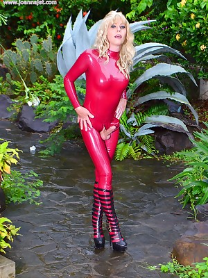 Eradicate affect Conclusive Website Be fitting of Shemale Pornstar Joanna Dastardly | Advance showing Porch - Unsporting Swain latex | www.joannajet.com