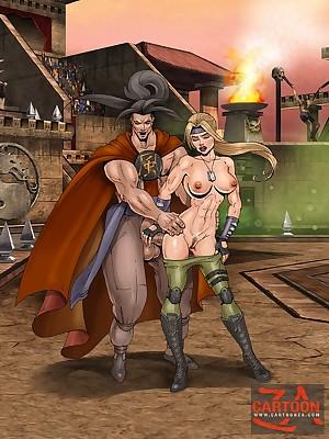 CartoonZa - Unfocused with the addition of 100% elite pasquinade porn!