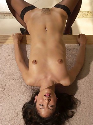 My Cute Asian : Outcast asian wold cut-offs similar to one another her pussy