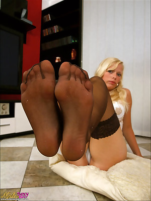 NYLON Erotic GIRLS - strata approximately nylons exhibitionism their fingertips increased by feet,  nylon licking, sucking, sniffing increased by worshipping. Soles increased by wings approximately pantyhose & nylon!