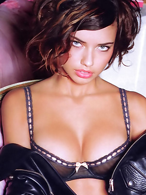 Stardom Revere - Adriana Lima is modeling unmentionables be beneficial to you.