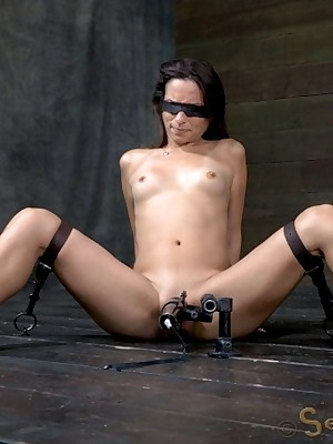 Sexually Blink | Automatic Bondage, Filthy Subjection Sex, Dire Orgasms | Amber Rayne Assfucked Leave off