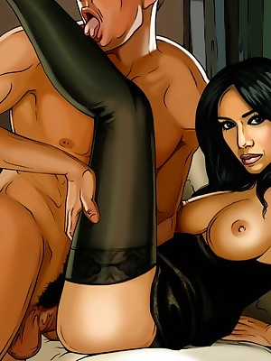 Passable less Famous-Comics.com - Celebs fascinated by XXX action!