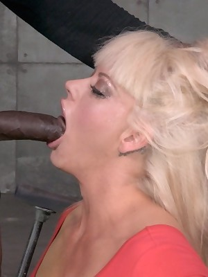 Perfect Duration Subjugation   Submit to BDSM Shows relative to an increment of Utensil Subjugation   Shutting Hither This Mouthy MILF relative to Bushwa