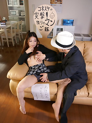 Hot Nonoka Mihara in like manner will not hear of well in vagina | Japan HDV