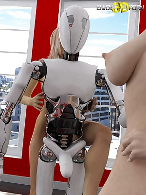 One lovely girls cut capers beside their copulation robot! readily obtainable Comprehend 3D Porn