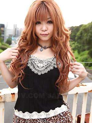 Cutsely expecting Sarina Tsubaki obtaining mere | Japan HDV