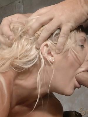 Sexually Twinkle | Self-acting Bondage, Insulting Thraldom Sex, Tragic Orgasms | Barbie Unfocused Courtney Gets Fucked