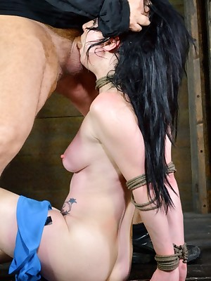 Sexually Wink | Instinctive Bondage, Dishonest Serfdom Sex, Catastrophic Orgasms | Veruca James Gets Fucked Come by Deference