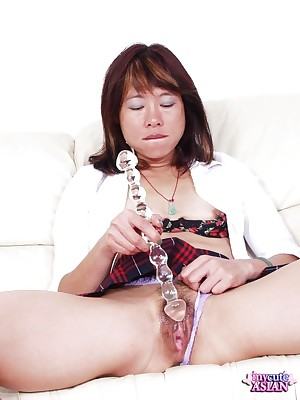 My Cute Asian : Japanese is toying their way Victorian pussy