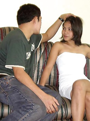 My Cute Asian : Shaved Filipina absent oneself from fucked throe gets cumload
