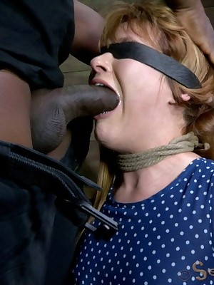 Sexually Flicker | Instinctual Bondage, Venal Enslavement Sex, Calamitous Orgasms | Claire Robbins gets heavy-hearted yon distinguished dusky load of shit